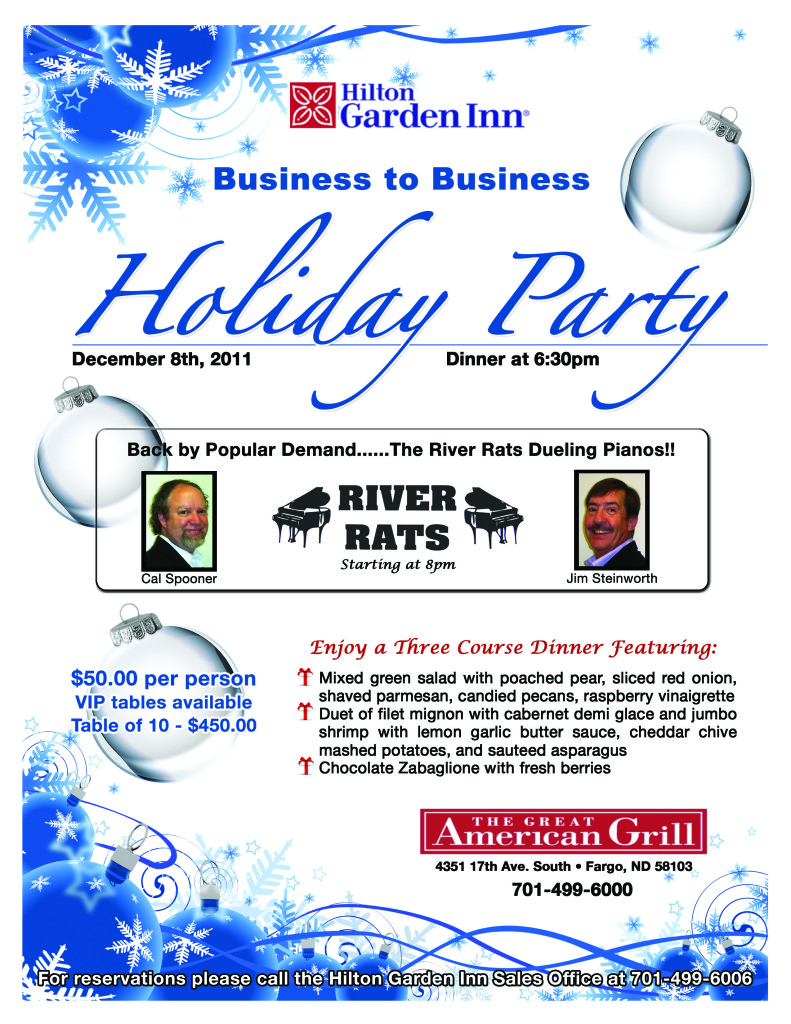HGI Fargo - B2B Holiday Flyer